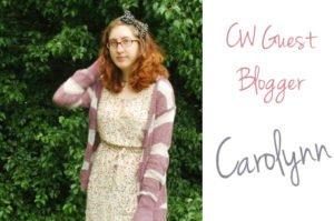 BCW Guest Blogger Carolynn