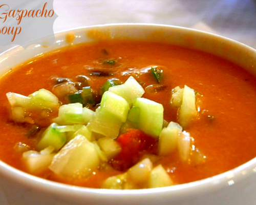 How to Make Gazpacho Soup