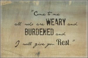 The Weary Can Come