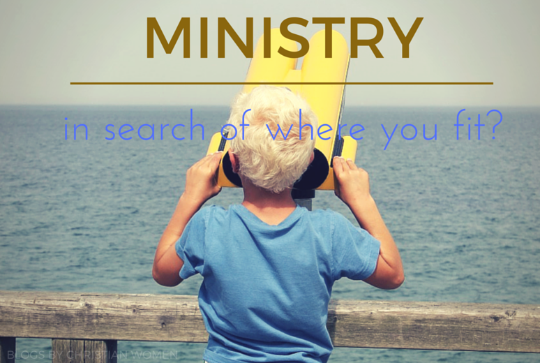 Finding Where You Fit in Ministry