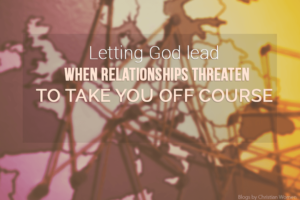 Taking God's lead in dating relationships