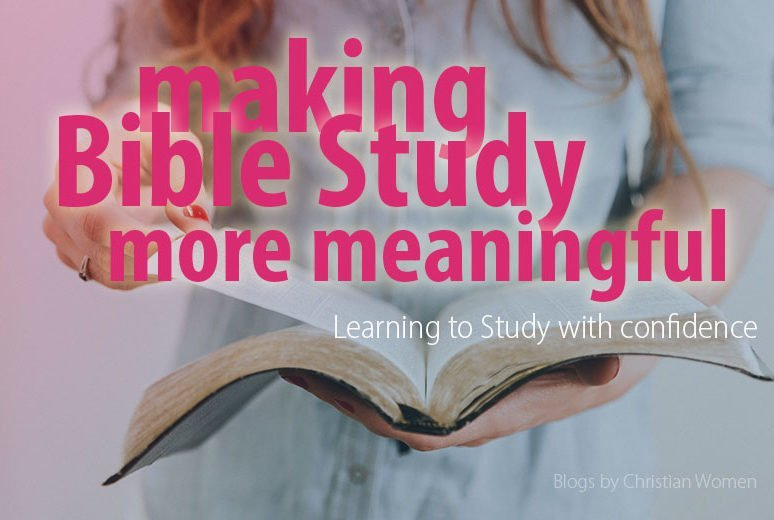 Get More from your Bible Study Time
