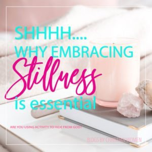 You Can Choose to Embrace Stillness