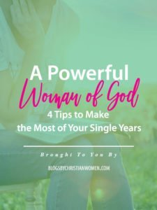 You Are a Powerful Woman of God