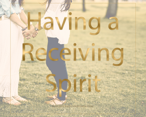 A Receiving Spirit