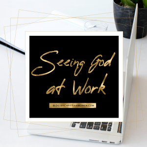 seeing God at work as a book editor