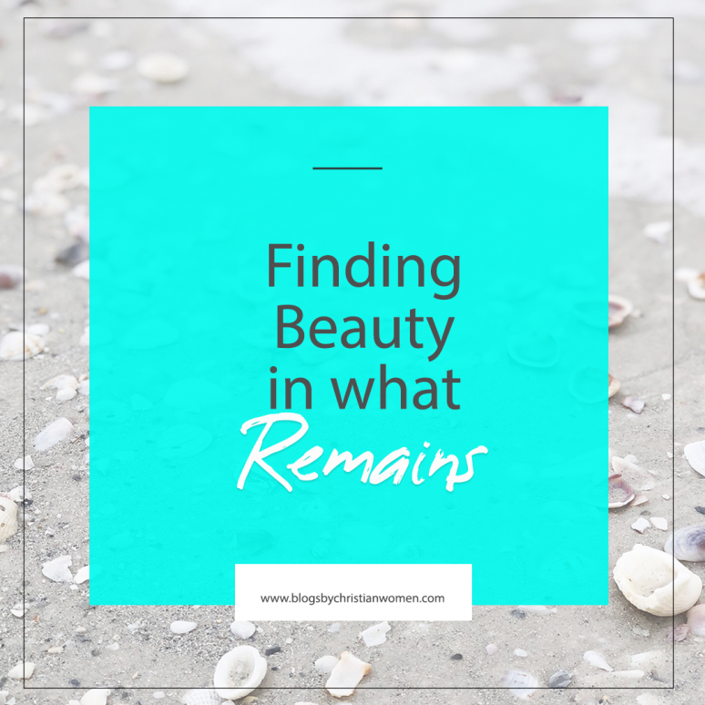 Are you uncovering the beauty in the midst of life's everyday struggles