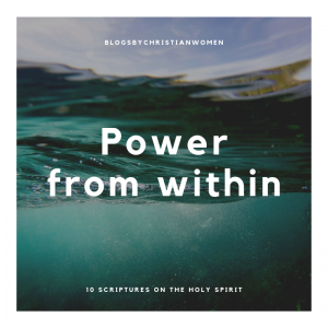 The Holy Spirit's Power from Withing