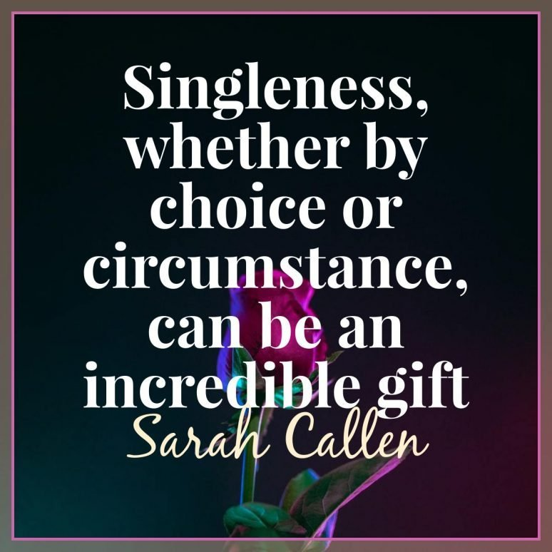 Seeing the gift of singleness
