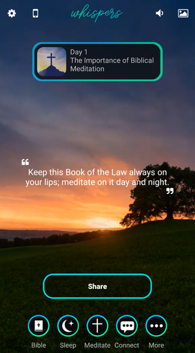 Whispers From God application is one of the best Christian apps